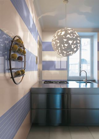 bathroom inspiration, the blue tiles from colore e colore