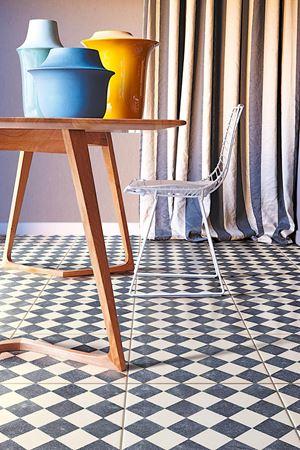 piastrelle fatte a mano in ceramica pavimento azzurro rivestimento dama design bardelli