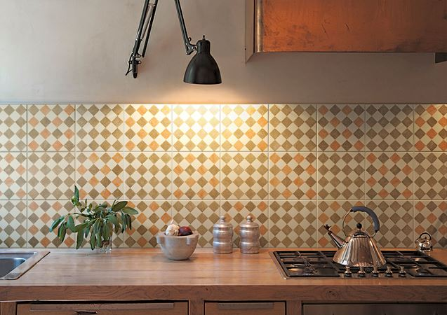 piastrelle fatte a mano in ceramica pavimento rivestimento vintage dama design bardelli