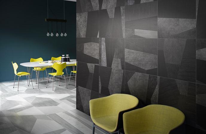 Palladiana design studiopepe for ceramicabardelli piastrelle in gres porcellanato grande formato 60x120
