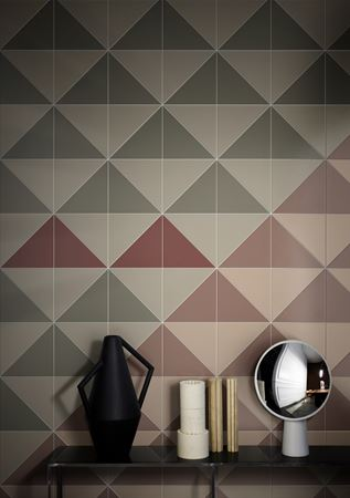 solutions de pose Triangle carreaux studiopepe CeramicaBardelli Pittorica