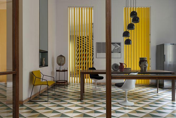 Pittorica studiopepe design piastrelle tringoli mix da pavimento e rivestimento