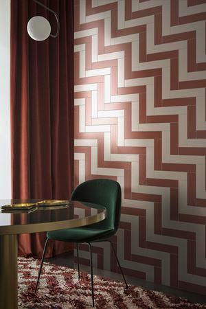 Pittorica studiopepe design piastrelle listello da pavimento e rivestimento