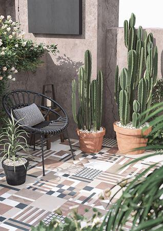 SODA Design Daria Zinovatnaya Tiles for Garden