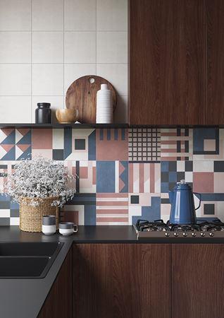 SODA Design Daria Zinovatnaya in a Kitchen Backsplash Pattern